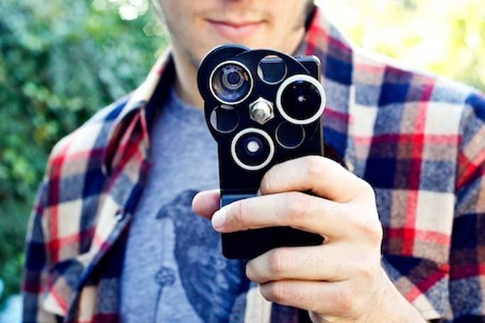 Photojojo's iPhone Lens Dial a pricey, but cool iPhoneography accessory