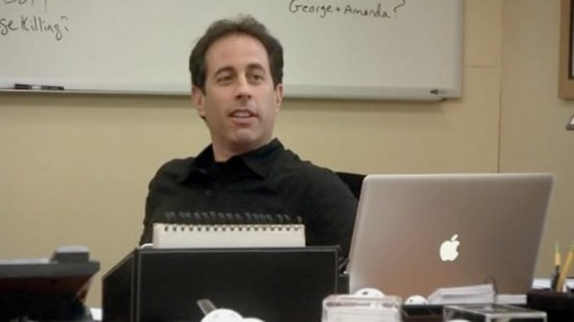Seinfeld back with the Mac in latest Curb episode