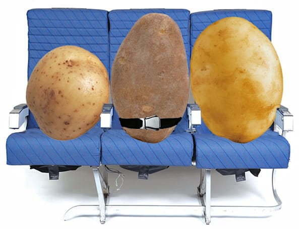 Boeing tests the effect of WiFi on flights, substitutes potatoes for humans