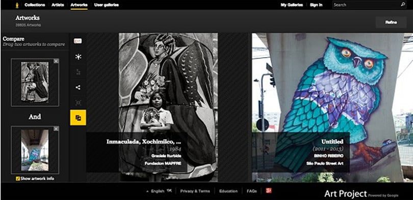 Google Art Project adds nearly 2,000 works, from street art to prized photos