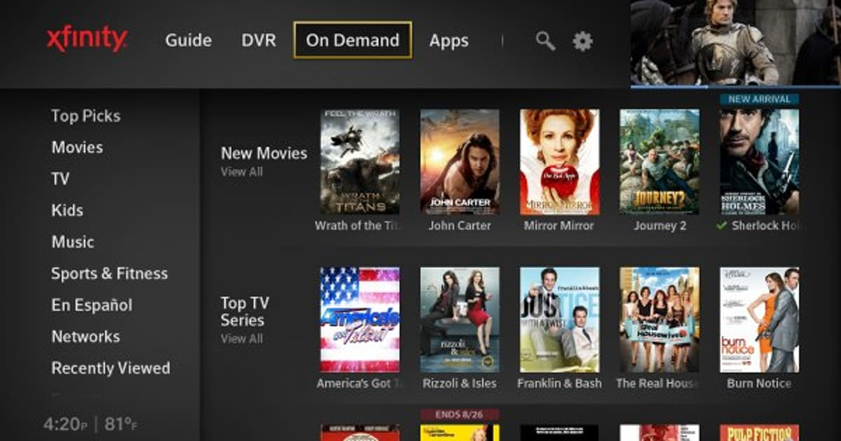 Xfinity Wifi Login >> Comcast officially launches next-gen X1 DVR platform and iPhone remote app (update: video)