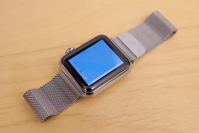 Windows 95 on an Apple Watch is wonderfully impractical
