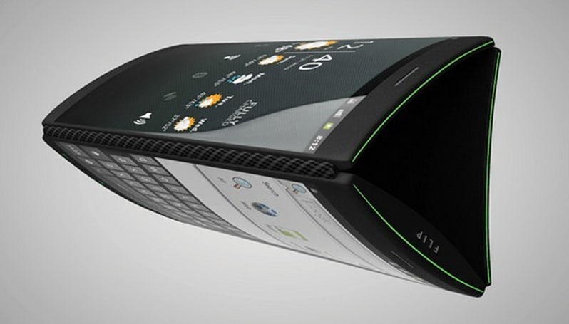 Triple-display Flip phone powers our dreams with Android (video)