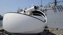 US Navy to deploy ship-mounted laser in 2014, blasts drones in the meantime (video)