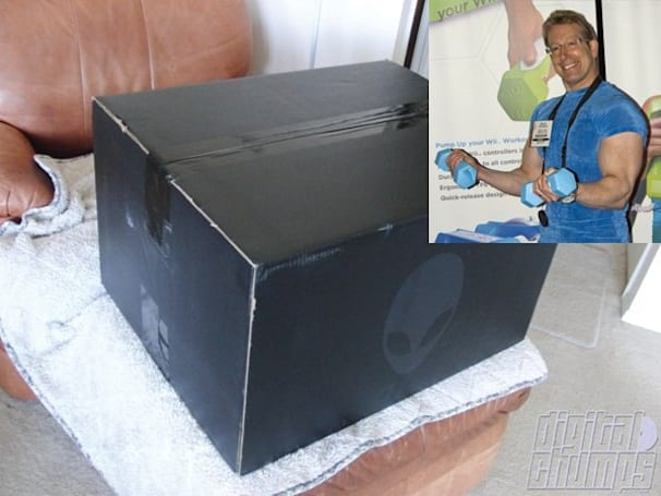 Alienware M17x unboxed... by Mr. Bicep