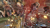 Doom's multiplayer patch adds a messy free-for-all deathmatch