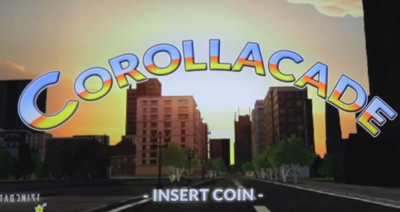 Toyota and game devs team up on CorollaCade, an arcade machine that uses the Oculus Rift