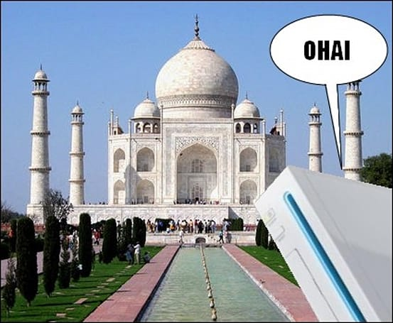 Wii fever spreads to India this month