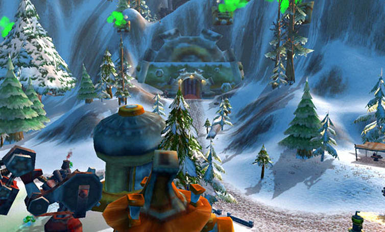 WoW Rookie: Cataclysm gnome starting area