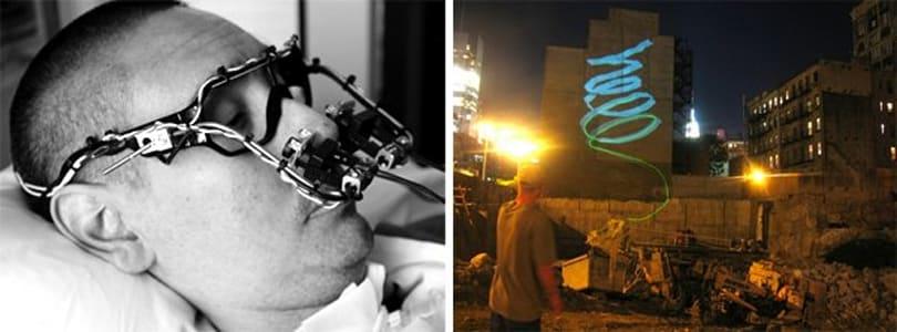 DIY Eyewriter brings the joy of art, vandalism to those with ALS