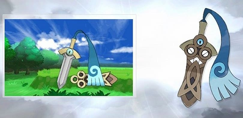 Sword-like Pokemon Honedge coming to X and Y