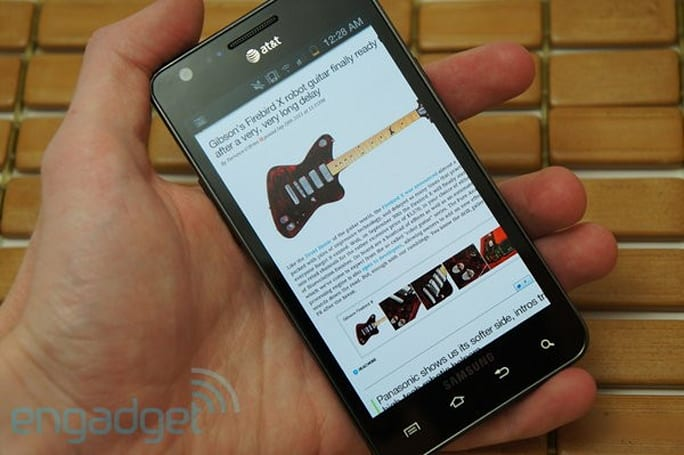 AT&T Samsung Galaxy S II review