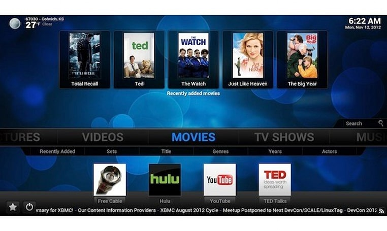 XBMC 12 Frodo launches in finished form with support for Android, live TV