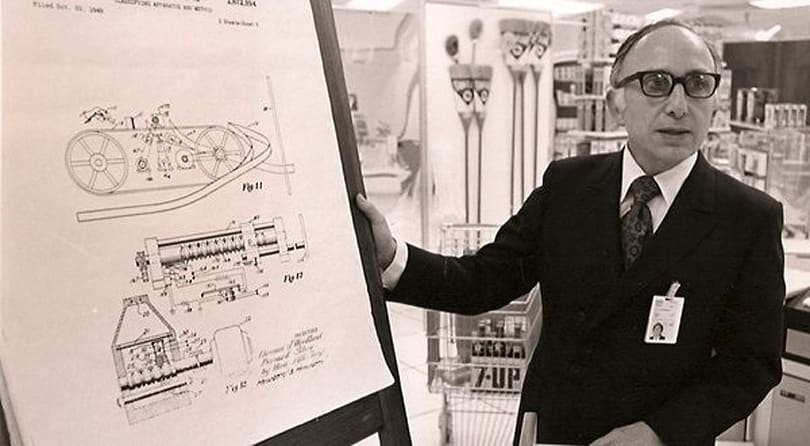 Co-inventor of the barcode, Norman Joseph Woodland, dies at 91