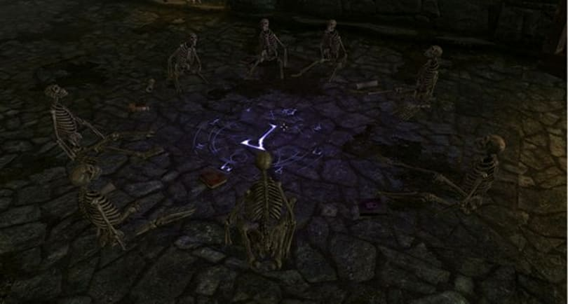 World of Warcraft comes to Skyrim with Scholomance dungeon