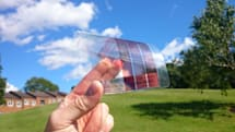 Moth eyes inspire solar cells that work indoors