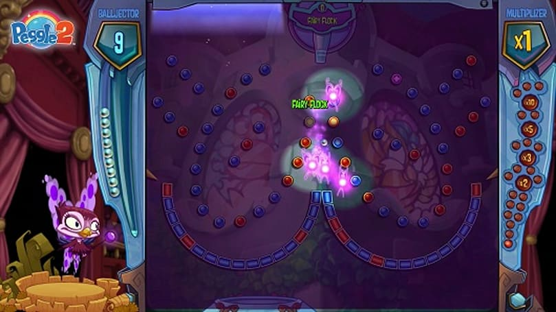 Peggle 2 Windy fairy DLC gives a flying flock