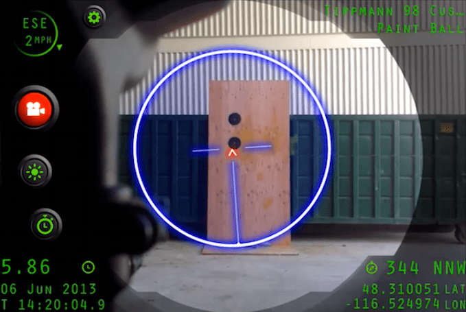 Inteliscope app version one shows off its iPhone-enabled sniping skills (video)