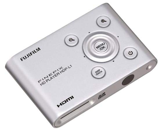 Fujifilm's Finepix HD Player HDP-L1 puts 3D W1 footage onto your new 3D HDTV
