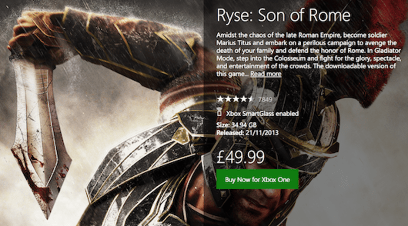 Microsoft UK explains price increase for select digital Xbox One titles
