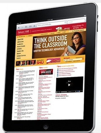 And so it begins... Seton Hill University to give all students an iPad