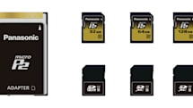 Panasonic introduces new microP2 SD-sized storage at NAB 2012
