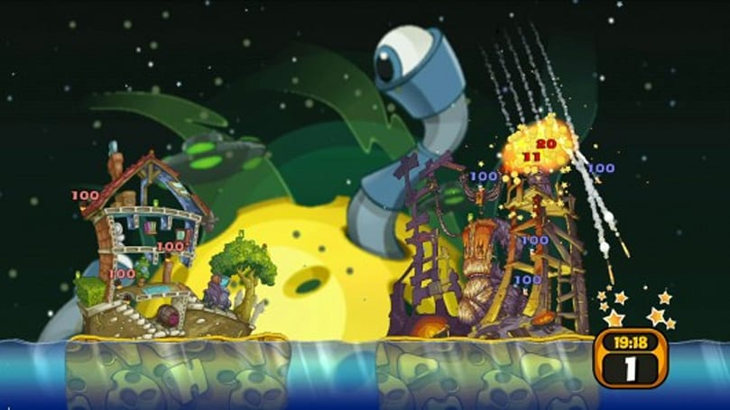 Worms 2: Armageddon adds 'Battle Pack' DLC to PSN, iOS