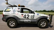 """Self-driving """"Marvin"""" SUV gets set for DARPA's Urban Challenge"""