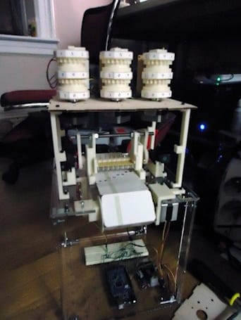 Chris Fenton follows up scale model Cray-1A with 3D-printed electromechanical computer, of course