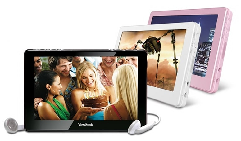 Viewsonic officially launches VPD400 MovieBook media player