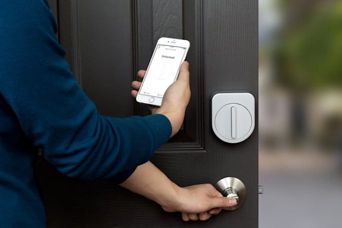 Sesame's smart door lock lets you in with a simple knock