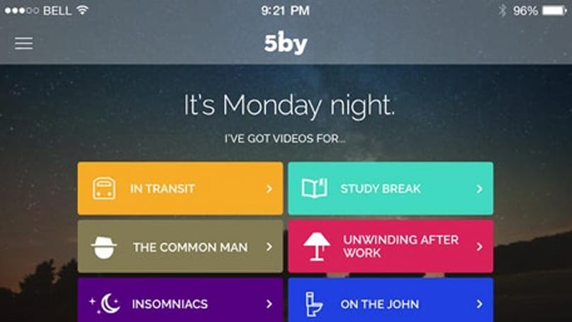 Daily App: 5by picks the best videos based on your personality