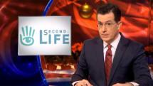 Colbert cracks ancient Second Life joke, picks on NSA