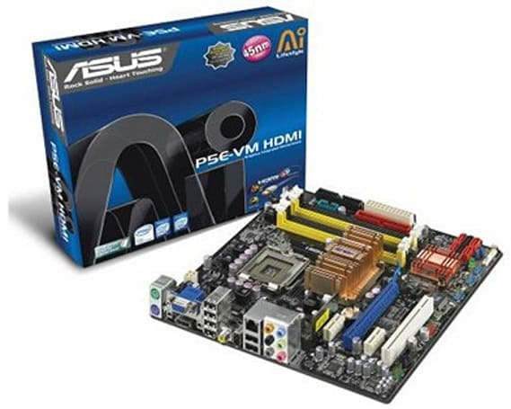 ASUS' G35 series motherboards natively support DirectX 10