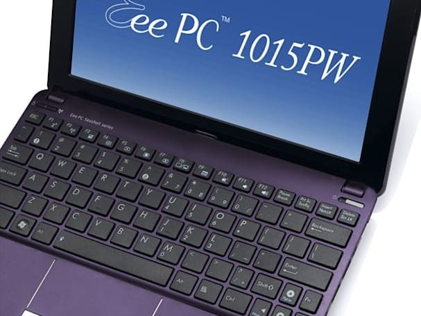 ASUS Eee PC 1015PW peeks out of hiding with dual-core Atom, royal purple shell