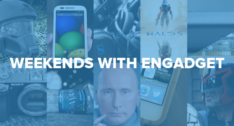 Weekends with Engadget: the Moto E, futuristic Army helmets and more!