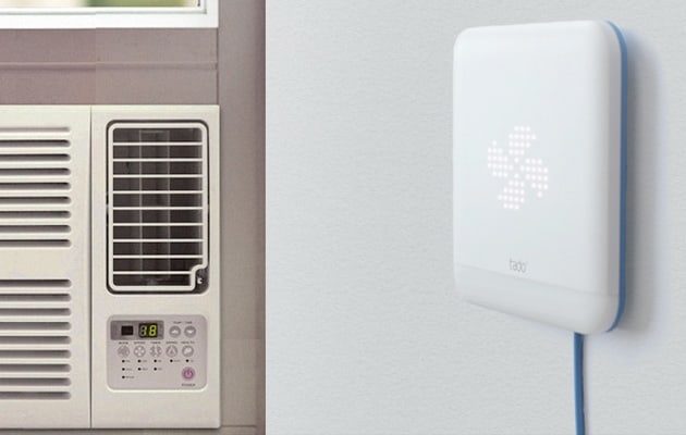 make your air conditioner modern with tado 39 s smart thermostat. Black Bedroom Furniture Sets. Home Design Ideas