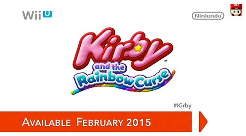 Kirby and the Rainbow Curse adds Amiibo support, arrives Feb. 2015