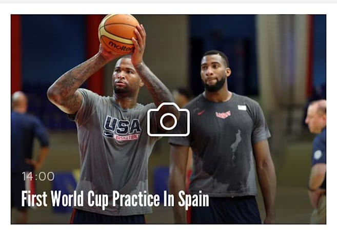 Follow Team USA in the World Cup with USA Basketball