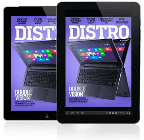 Distro Issue 78: the ASUS TAICHI 21 and Turquoise Jeep's Flynt Flossy