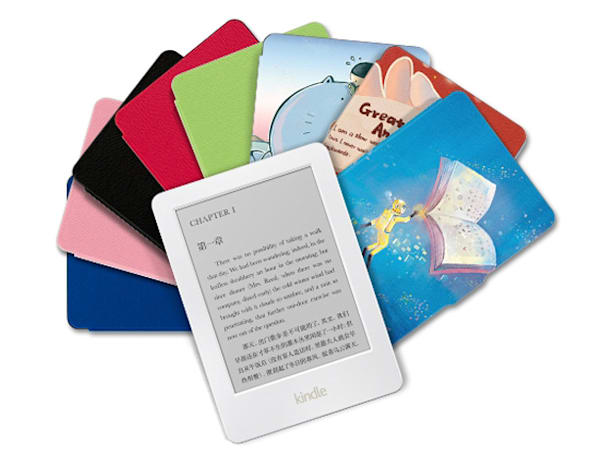 Amazon brings back the white Kindle e-reader in China and Japan