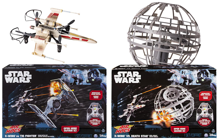 Stage your own 'Star Wars' battles with this new Air Hogs line