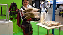 Tokyo University of Science shows off robotic suit powered by pneumatic artificial muscles (video)