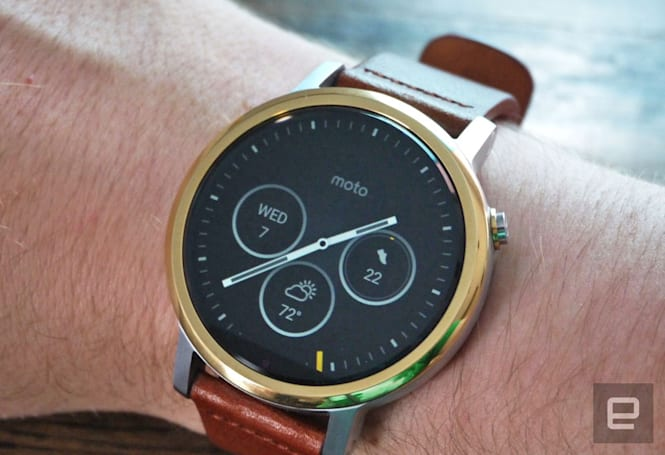 Motorola isn't making a new smartwatch anytime soon