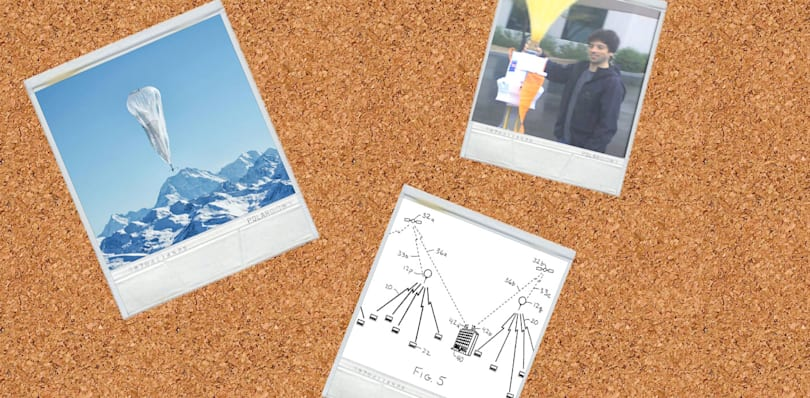 Google accused of stealing the idea for Project Loon