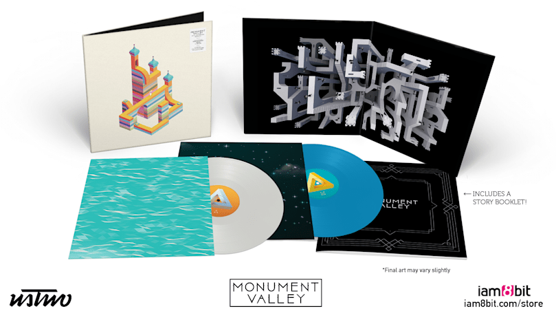 'Monument Valley' is the latest game soundtrack going vinyl