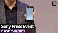 Watch Sony's Xperia MWC press event in under 5 minutes