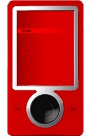 "Microsoft says ""watermelon red"" Zune is in the works"