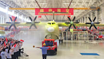 China finishes building the world's largest amphibious plane