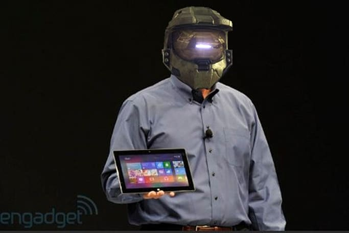 Halo 4 will work with Microsoft's new tablet ... somehow